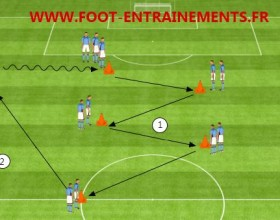 exercice foot passe