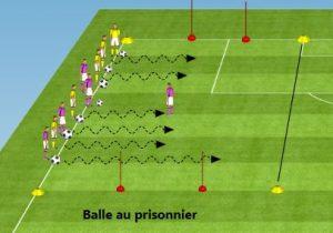 balle-prissonier foot