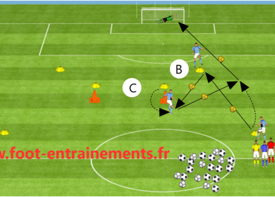 Passes en triangle