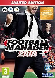 jeu pc football manager 2018
