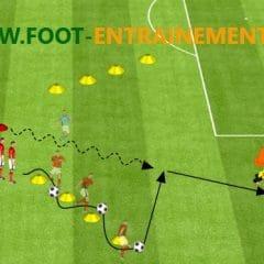 exercice ecole de foot